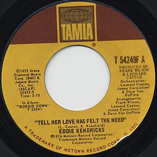 Eddie Kendricks / Loving You The Second Time Around