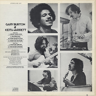 Gary Burton & Keith Jarrett / S.T. back