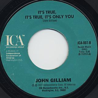 John Gilliam / Come Back Carol back