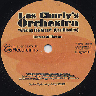 Los Charly's Orchestra / Grazing The Grass(Una Miradita)