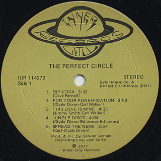 Perfect Circle / S.T. label