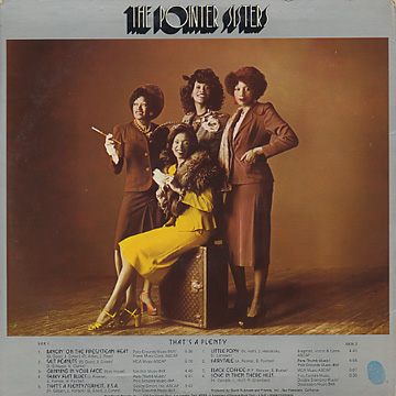 Pointer Sisters / That's A Plenty back
