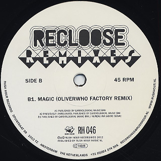 Recloose / Andres & Oliverwho Factory Remixes back
