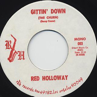 Red Holloway / Gittin' Down