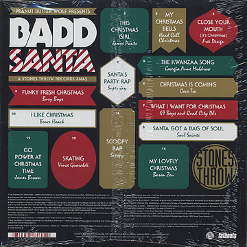 V.A. / Penut Butter Wolf Presents Badd Santa back