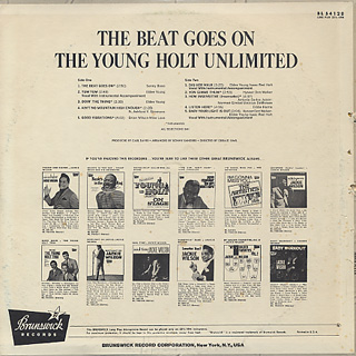 Young-Holt Unlimited / The Beat Goes On back