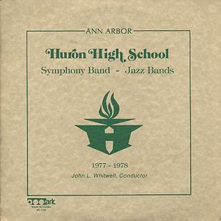 Ann Arbor Huron Symphony Band / 1977-1978