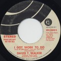 David T. Walker / I Got Work To Do