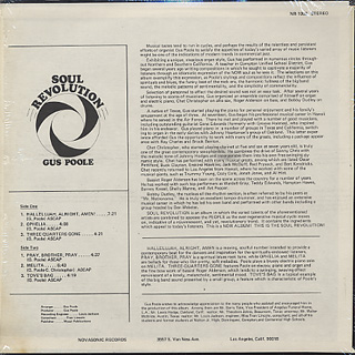 Gus Poole / Soul Revolution back