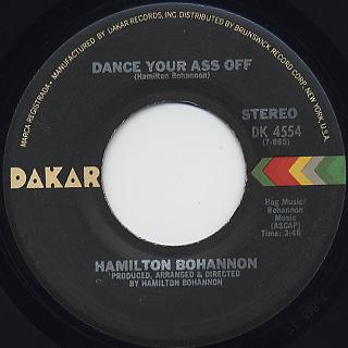 Hamilton Bohannon / Dance Your Ass Off