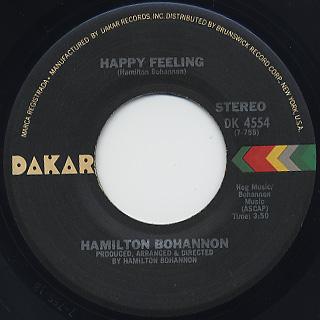 Hamilton Bohannon / Dance Your Ass Off back