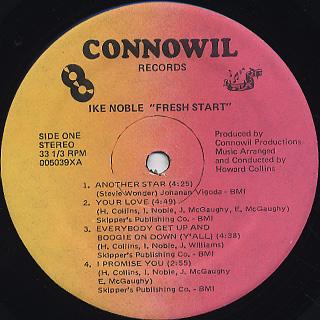 Ike Noble / Fresh Start label