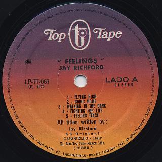 Jay Richford & Gary Stevan / Feelings label