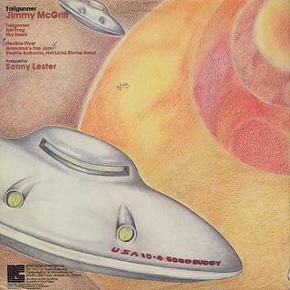 Jimmy McGriff / Tailgunner back
