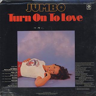 Jumbo / Turn On To Love back