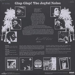 Kenny Cox / Clap! Clap! (The Joyful Noise) back