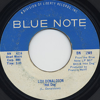 Lou Donaldson / Who's Making Love back