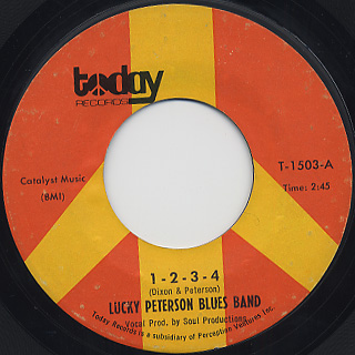 Lucky Peterson Blues Band / Good Old Candy back