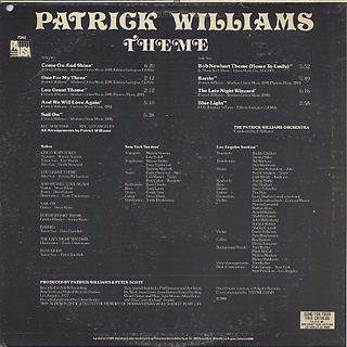 Patrick Williams / Theme back