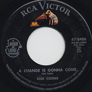 Sam Cooke / Shake c/w A Change Is Gonna Come back