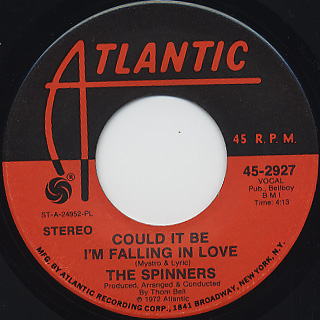 Spinners / Could It Be I'm Falling In Love