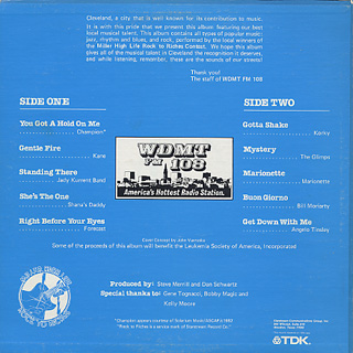 V.A. / WDMT FM 108 Sounds Of Our Streets Alnum 1 back