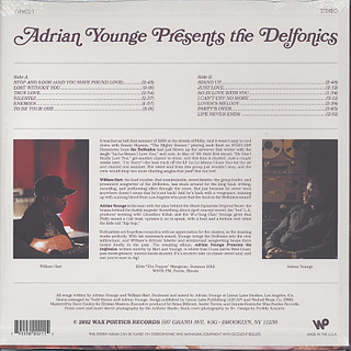 Adrian Younge presents The Delfonics / S.T. back