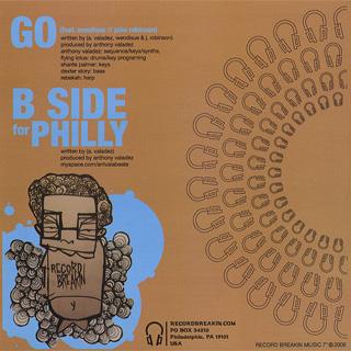 Anthony Valadez / Go Feat. Wendisue & John Robinson back