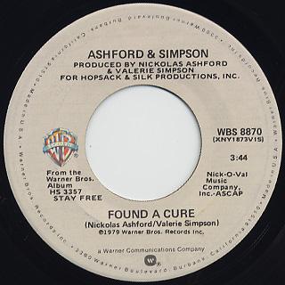 Ashford & Simpson / Found A Cure