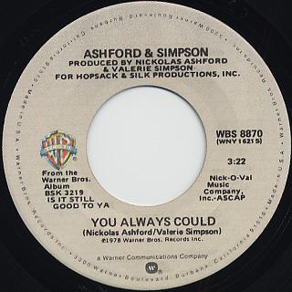 Ashford & Simpson / Found A Cure back