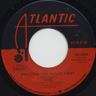 Average White Band / Groovin' The Night Away