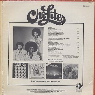 Chi-Lites / S.T. back