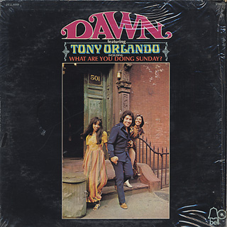 Dawn Featuring Tony Orlando / S.T. front