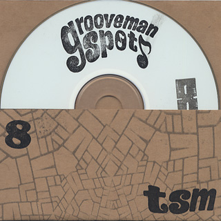 grooveman Spot / The Stolen Moments Vol.8 front