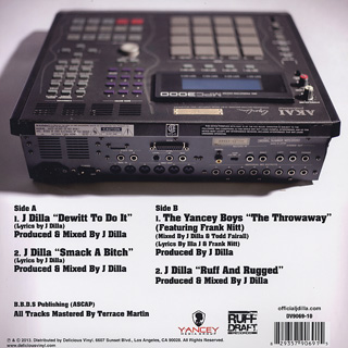J Dilla / Music From The Lost Scrolls Vol.1 back