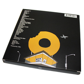 J Dilla / Donuts 45 Box Set (8x45s) back