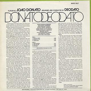 Joao Donato / Donato Deodato back
