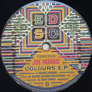 Joe Morris / Colours EP back