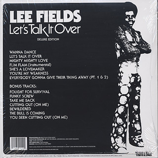 Lee Fields / Let's Talk It Over (Deluxe Edition 2LP) back