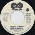 Love Committee / One Day Of Peace