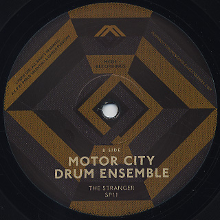 Motor City Drum Ensemble / Send A Prayer back