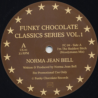 Norma Jean Bell / Funky Chocolate / Classics Series Vol.1
