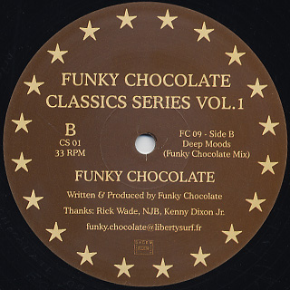 Norma Jean Bell / Funky Chocolate / Classics Series Vol.1 back