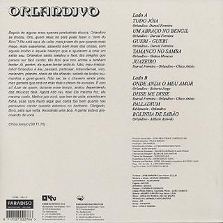 Orlandivo / Orlandivo back