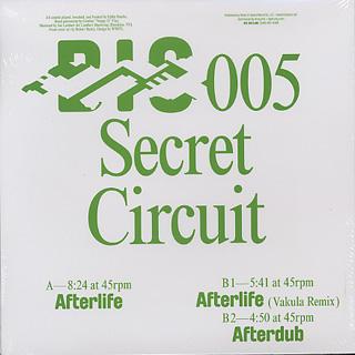 Secret Circuit / Afterlife (Vakula Remix) back