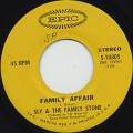 Sly & The Family Stone / Family Affair c/w Luv N' Haight