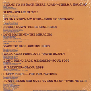 V.A. / Motown Disc-O-Tech #4 back
