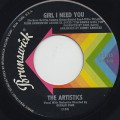 Artistics / Girl I Need You