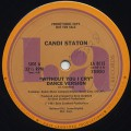Candi Staton / Without You I Cry(Dance Version)