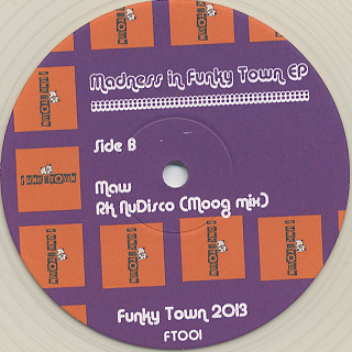 Coffee / Madness In Funky Town (M.A.W Edit) back